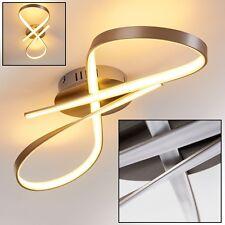 Plafonnier Design LED Lampe à suspension Éclairage de salon Lustre Chrome 138734