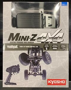 Kyosho Mini-Z, 4X4 MX-01 Jeep Wrangler Rubicon Bright White, RTR-Set, neu!