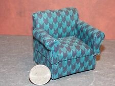 Dollhouse Miniature Living Room Chair 1:12 one inch scale D62 Dollys Gallery