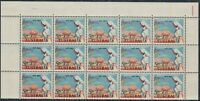 1962 50th Anniv. Inland Mission. Blk 15 Showing Plate Variety BW387d. MUH.