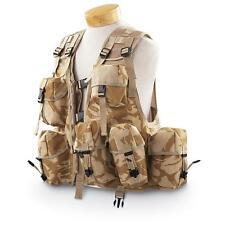 """British Desert DPM Camo Tactical Vest General Purpose Ops Vest Size 38-44"""" Chest"""