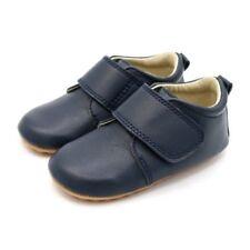 Scarpe in pelle blu per bimbi da bimbo