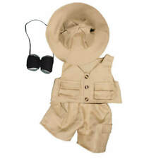 "Teddy Mountain Safari Outift Fits all 14""-18"""