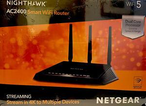 NETGEAR Nighthawk R7350 Dual-Band AC2400 Wi-Fi Router - R7350-100NAS, NEW IN BOX