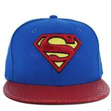 New Era DC Marvel Comics Reptvize 9 FIFTY Superman Strapback Casquette De Baseball Sze S/M