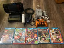 Nintendo 32gb Wii u Console/5 Games/extras (READ DESCRIPTION)