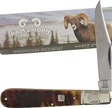 Rough Rider Rams Horn Big Daddy Barlow Pocket Knife RR1595 Folding Blade