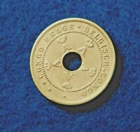 1920 Belgian Congo 5 Centimes - Very Nice Coin - See Pictures
