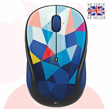 Logitech Wireless Mouse M325 Nano cordless optical Mice Blue Facets 910-004445