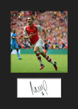 Aaron Ramsey - Arsenal Signed Photo Print A5 Mounted Photo Print - FREE DELIVERY