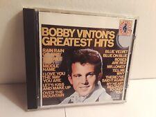 Bobby Vinton – Bobby Vinton's Greatest Hits (CD, Epic)