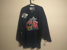 Columbus Blue Jackets Vintage Authentic CCM NHL Center Ice Jersey XXL WIth Tags