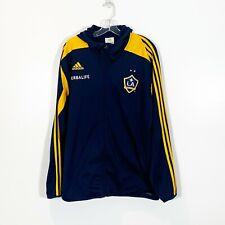 Los Angeles LA Galaxy Adidas Formotion Full Zip Hoodie Sweatshirt Jacket Logo