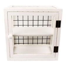 Möbel aus matt lackierten MDF -/Spanplatten im Shabby-Stil fürs Badezimmer