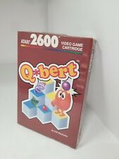 NEW FACTORY SEALED Q BERT GAME PAL VERSION FOR ATARI 2600  ( NOT FOR USA) G75