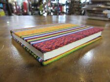 Bhutanese Traditional Fabric 30page Note Book Handmade Paper 14x11 cm