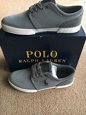 Men's Polo Ralph Lauren Gray Mesh Faxon Sneakers Size 10 Very Nice!!