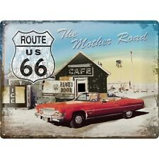 Nostalgie Blechschild - Route 66 - the Mother Road - Blechschilder