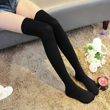 Fashion Womens Girls Long Socks Over Knee Thigh High Stockings Stripe Sport