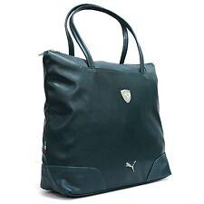 PUMA FERRARI LS SHOPPER BAG (Teal Green)  PMMO2019 Travel overnight Scuderia