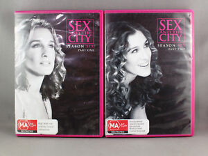 SEX & THE CITY SEASON 6 PART 1 & 2 (DVD SETS 2003)  LIKE NEW IMMACULATE CON