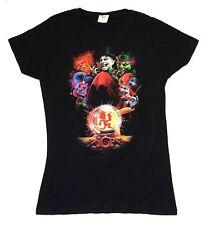 Insane Clown Posse Crystal Ball Girls Juniors Black T Shirt XL New Official ICP