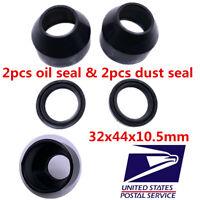 Motorbike Front Fork Damper Oil Seal & Dust Deal 32x44x10.5mm for Yamaha DT125