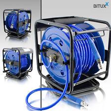 30 Meter Druckluft Schlauchtrommel manuell 30m Druckluft Trommel Aufroller NEU