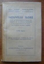 NOUVELLE FLORE Pour la Détermination Facile des PLANTES G.BONNIER/G.de LAYENS