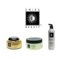 Swisa 1 Body Butter + 1 Mineral Salt Treatment + 1 Intensive Foot Care Lotion