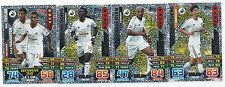 2015 / 2016 EPL Match Attax SWANSEA Inserts Man of the Match x 3 Duo x 1
