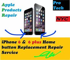 APPLE iphone 6 & 6 Plus home button Repair Service / Without Touch ID