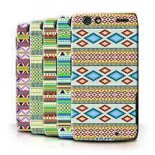 STUFF4 Back Case/Cover/Skin for Motorola RAZR XT910/Aztec Tribal Pattern