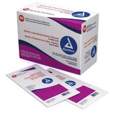 NEW! Dynarex Sterile Powder-free Latex Exam Gloves, Large, Pairs, BX/50, #2453