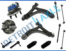 New Complete 12pc Front Lower Control Arm and Ball Joint Suspension Kit w/ ABS