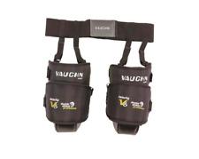New Vaughn V6 1100i Ice Hockey Goalie Intermediate knee thigh guard pads black