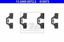 Zubehörsatz, Scheibenbremsbelag für Bremsanlage Hinterachse ATE 13.0460-0072.2