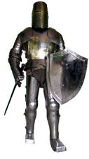 X-Mas Medieval Wearable Knight Crusador Full Suit Of Armor