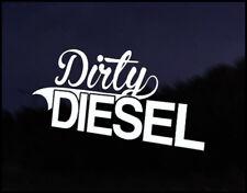 Dirty Diesel Car Decal Sticker JDM Vehicle Bike Bumper Graphic Funny