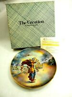 Noah and The Ark -The Creation Porcelain Plate from famous VIP MINT