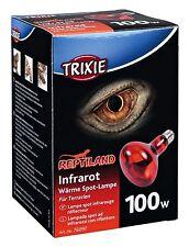 Infrared Heat Spot Lamp Reptile Day & Night Red Heat Bulb E27 Thread 100w