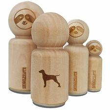 Hungarian Vizsla Dog Solid Rubber Stamp for Stamping Crafting Planners