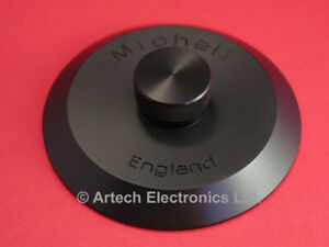 J.A. MICHELL SPECIAL BLACK RECORD CLAMP, FITS MOST DECKS - Save $15.00