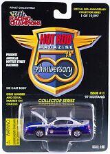 Racing Champions Hot Rod Magazine 50th Ann. #11 '97 Mustang MOC 1997