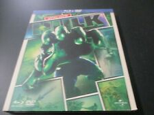 "COF BLU-RAY + DVD ""HULK - EDITION LIMITEE"" Eric BANA Jennifer CONNELLY / Ang LEE"