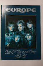 EUROPE  /1988-1989 OUT OF THIS WORLD TOUR PROGRAM