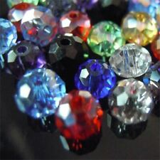 Austria faceted Crystal Glass Beads Loose Spacer Round Beads for Jewelry Making