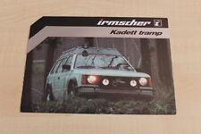 159964) Opel Kadett D-irmscher Tramp-folleto 198?