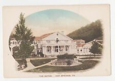 Hot Springs,Virginia,The Baths,Bath County,Hand-Colored,c.1930s