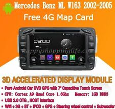 Android Multimedia Player for Mercedes Benz ML W163 2002-2005 DVD GPS Navi Radio